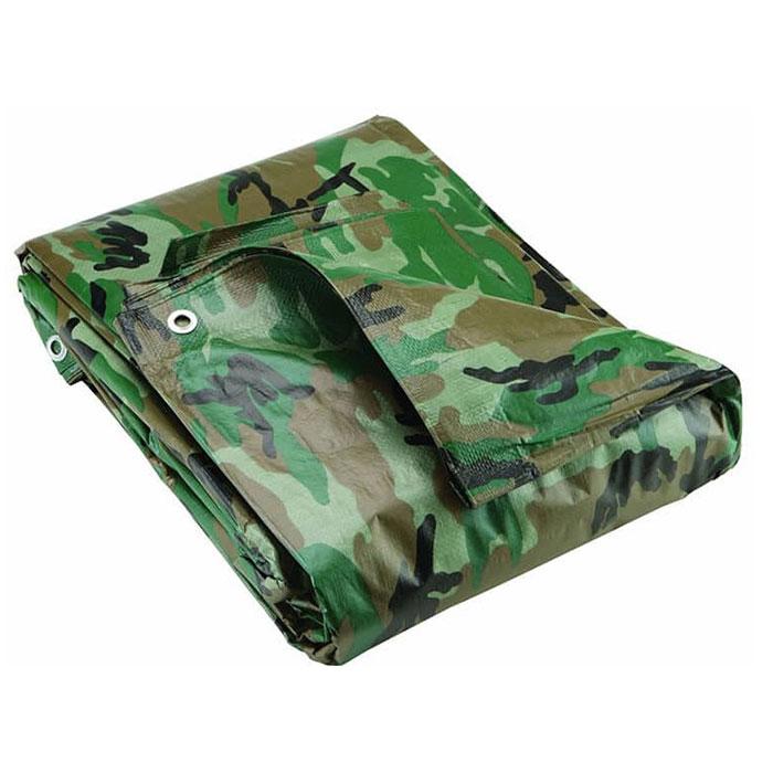 Camouflage PE Tarpaulin